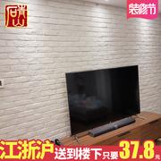 青山 白砖白色文化砖 仿古砖客厅电视背景墙砖北欧瓷砖室内文化石