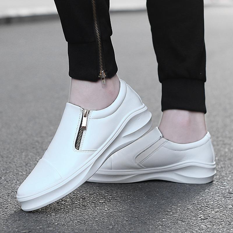 鞋拉鏈增高鞋