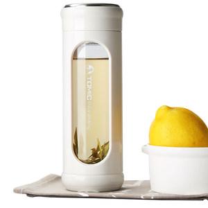 tomic特美刻水杯女玻璃杯透明便携防摔ins杯子家用随手杯男泡茶杯