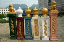 厂家直销欧式罗马柱模具建筑模板塑料钢现浇阳台大门水泥柱子圆形