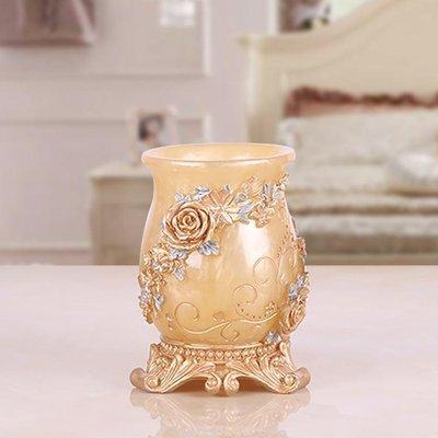 创意漱口杯刷牙杯 情侣牙缸洗漱杯套装树脂 结婚欧式浴室用品包邮好不好