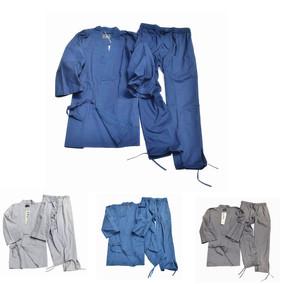 出口日本原  纯棉梭织棉布日本和服浴衣作务衣 睡衣家居服7-2
