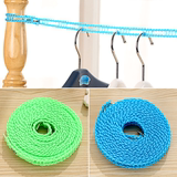 5 meters long non-slip ladder rope shape clothesline clothesline windproof fence clothesline wild camping drying rope