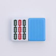 家用手搓麻将牌麻将单张配牌单个1只麻将子竹丝花纹