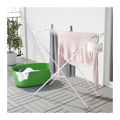 北京宜家国内代购 IKEA家居 加尔 晾衣架 晒衣架 折叠式衣架