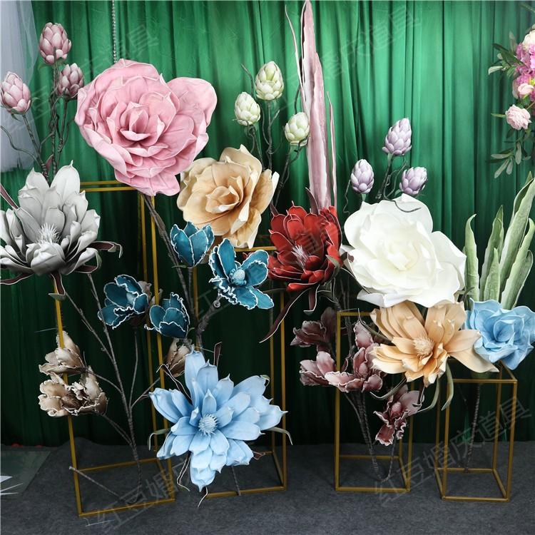 橱窗装饰花卉