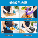 Long thickening disposable Ningqing mechanical rubber latex labor insurance oil and oil resistant acid and alkali gloves health