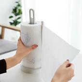 创意厨房立式卷纸架带底座桌面卷纸收纳架卫生间纸巾挂架塑料P