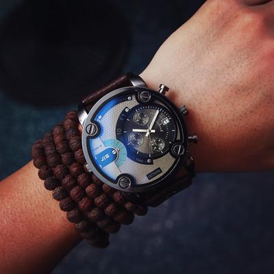 美国石英皮带手表