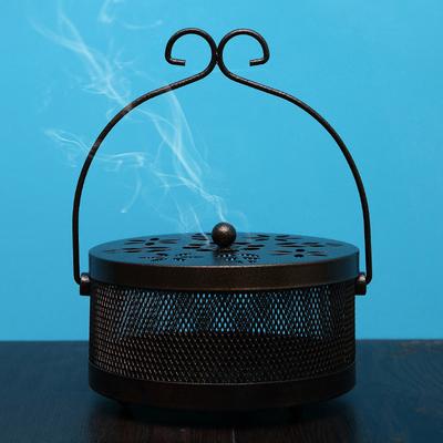 创意蚊香架蚊香盘托蚊香盒带盖防火家用室内蚊香炉托盘香炉