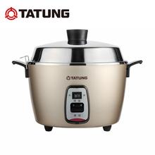 台湾TATUNG/大同 TAC-10Q电锅304不锈钢蒸炖卤煮火锅电饭煲双锅