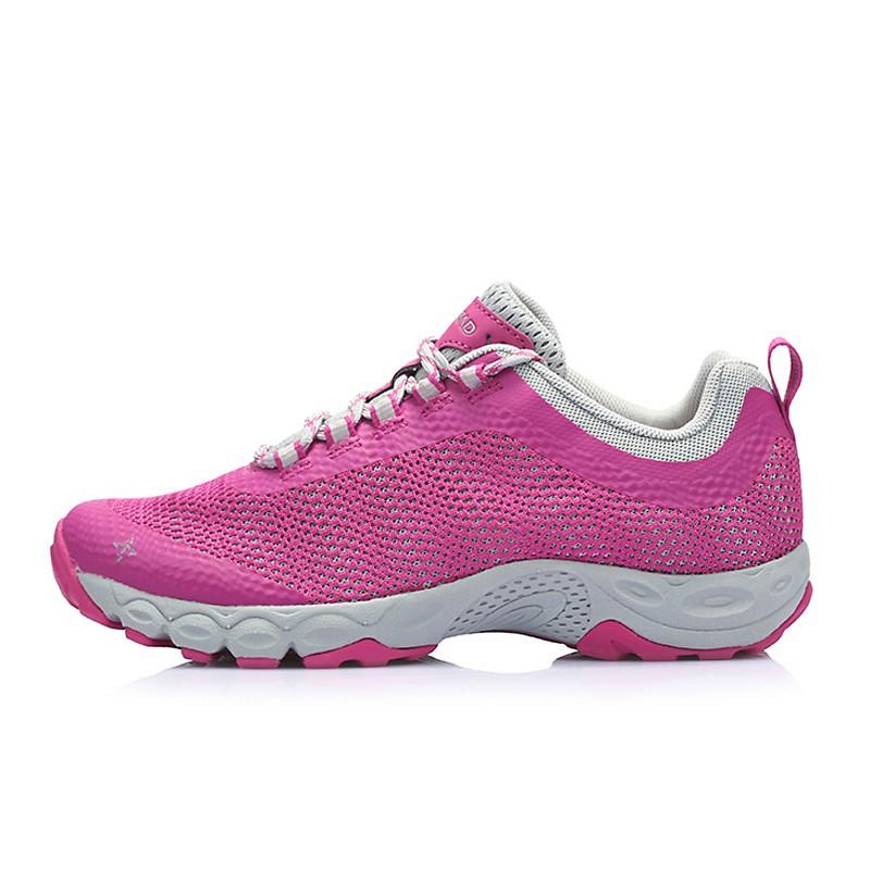 探路者女鞋 春夏户外网布透气登山鞋女式防滑耐磨徒步鞋KFAE82343