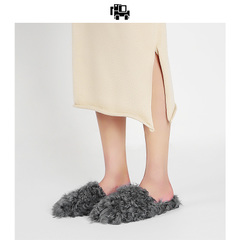 女式羊毛拖鞋