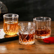 Thickened lead-free glass whiskey glass wine glass spirit glass beer glass KTV household European classical wine glass