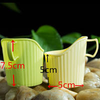 Cup holder Thickened cup holder Disposable cup holder Environmental plastic cup holder 10/package tricolor