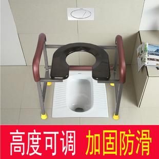 孕妇马桶坐便器可移动老人蹲厕座便器椅子简易室内用家用舒适