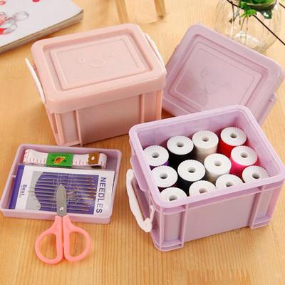 针线盒缝衣针线组合套装高档韩国包邮便携迷你家用手缝可爱针线包