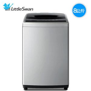 小天鹅8公斤kg智能洗衣机全自动家用小型宿舍波轮 大容量 TB80V20