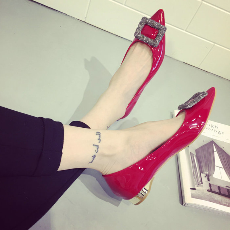 女单百搭婚鞋
