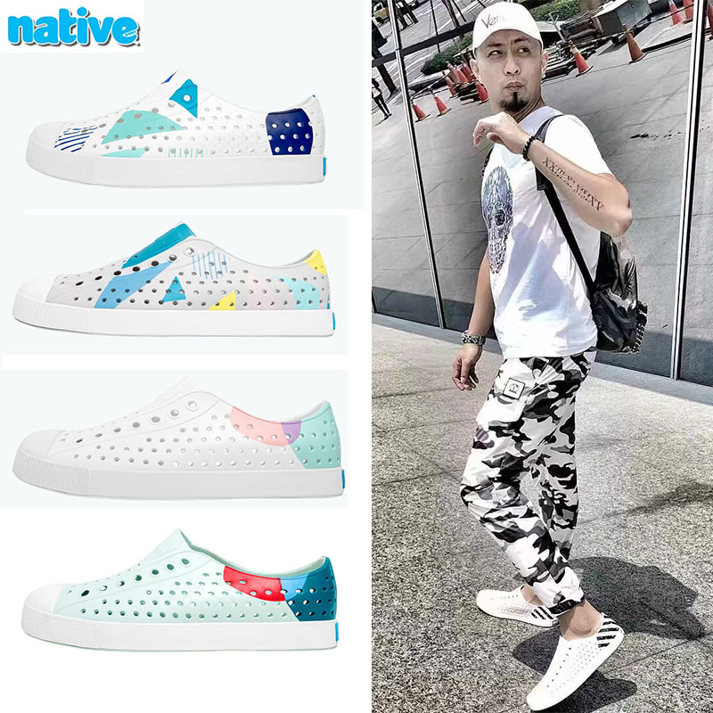 2019夏季新款正品native shoes Jefferson洞洞鞋男女沙滩鞋凉鞋潮