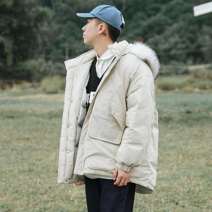 【特价】冬季面包服加厚工装棉服男士棉袄潮流棉衣韩版中长款外套