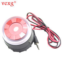 Vexg alarm 12V high power alarm horn 12V siren burglar alarm high score