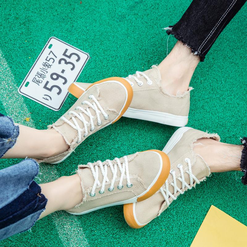 女鞋子学生情侣鞋