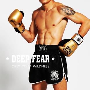DF职业级泰式拳套 散打 DEEPFEAR 泰拳 搏击muaythai DFBG03 拳击