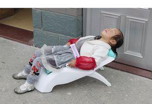 达芬贝 儿童可躺洗头椅可调节宝宝洗头椅可折叠 婴幼儿洗头床