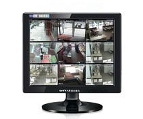包邮15寸液晶监视器高清工业BNC安防网络监控专用正屏显示器