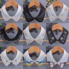 饰假领子水钻钉珠单领子服饰配件DIY领花百搭女衬衣领 韩版 花边装