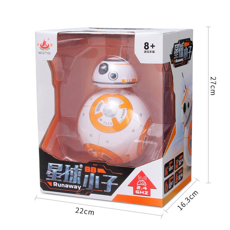 锋源 星球大战BB-8智能机器人儿童益智电动玩具男孩遥控机器球6岁