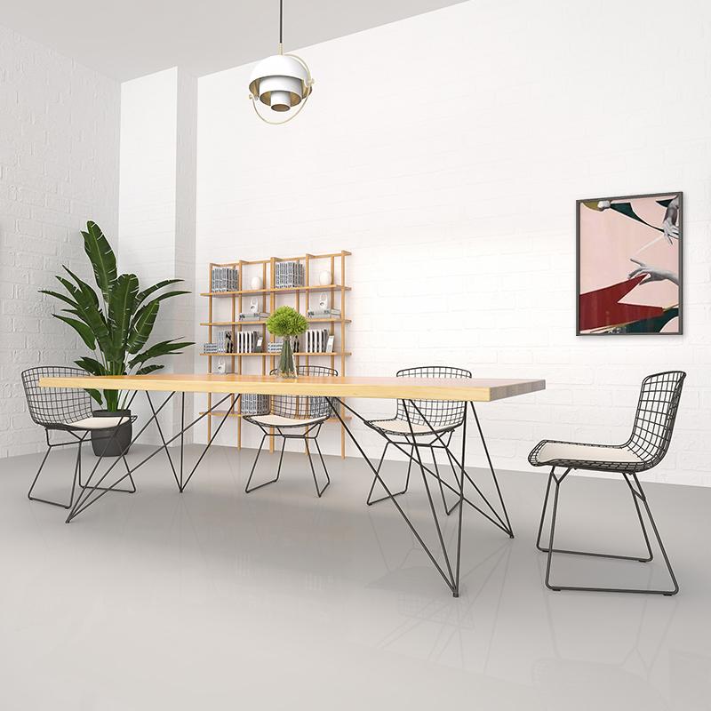 果漫北欧小型会议桌GM-HYZ-008
