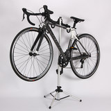 Mountain road bicycle telescopic bicycle rack Display stand Triangular vertical parking rack Adjustable height