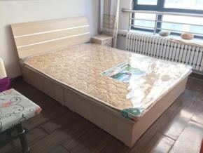 送床垫 升级款e1级硬边板式床 高箱体储物环保型青岛家具包邮