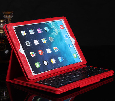 苹果ipadair2无线蓝牙键盘保护套pro9.7寸转轴键盘带皮套哪个牌子好