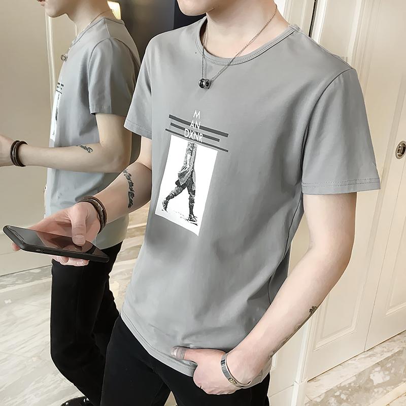 新款短袖以纯t恤