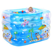 Nuoao baby swimming pool inflatable insulation infant child baby swimming bucket household bath barrel newborn bath tub