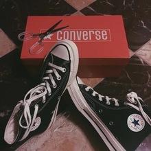 Converse 匡威1970S三星标帆布鞋黑色高帮黑低帮142334C 144757c