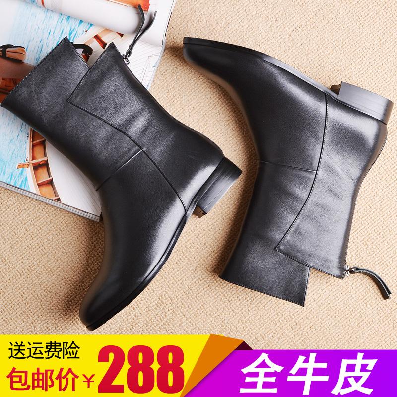 女靴大码低跟