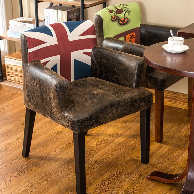 奶茶店沙发餐椅