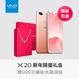 【12期免息】vivo X20新年限量礼盒全网通智能全面屏手机vivox20