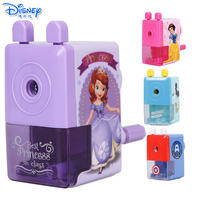 Disney Sophia Mickey Children's Pencil Sharpener Sharpener Hand Cartoon Student Stationery Pencil Sharpener