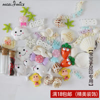 Baby hair hand prints footprints decorative souvenir trinkets accessories DIY hand and foot print mud jewelry baby umbilical cord