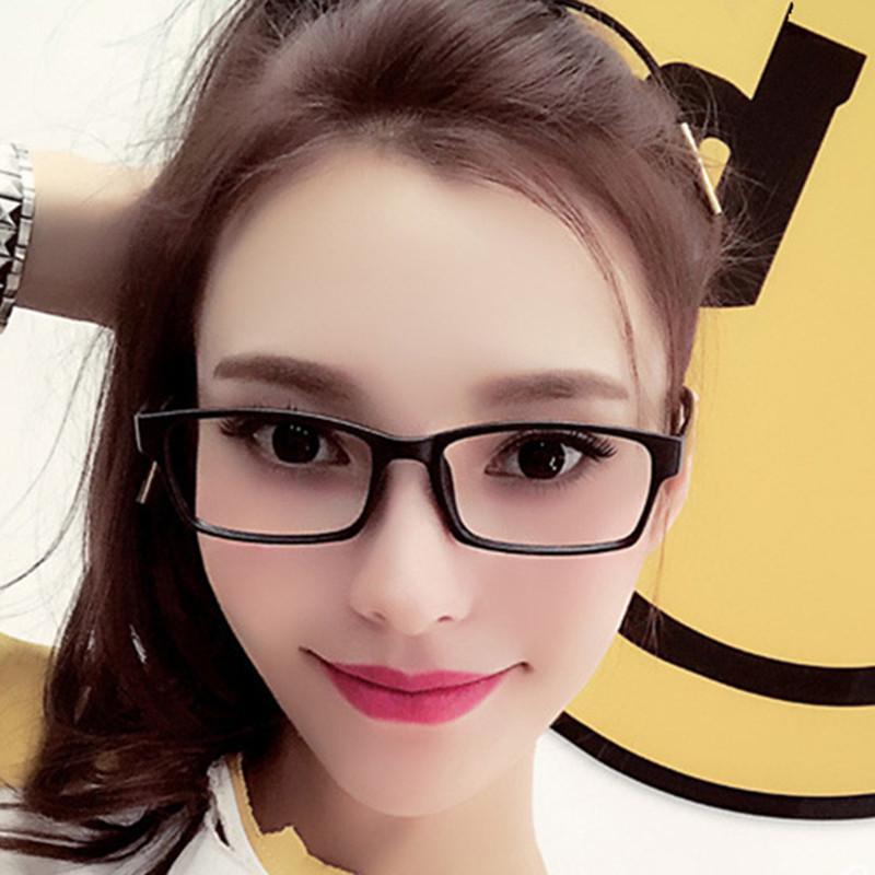 男女通用0-600度成品近视眼镜全框镜架眼镜学生时尚超轻免配镜01