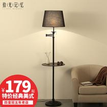 客厅台灯具LED床头落地灯立式卧室创意后现代简约北欧大理石茶几