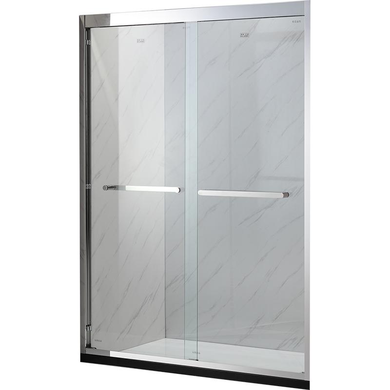 爱丽名镜不锈钢化玻璃门AWB6122A