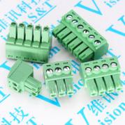 3.81MM 单独插头 15EDG 接线端子 接线头 2P 3P/4P/5P/6P/7P/8P