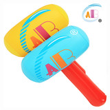 ABC inflatable small steamed head inflatable hammer Children's inflatable toy Built-in bell baby love thickened environmentally friendly material