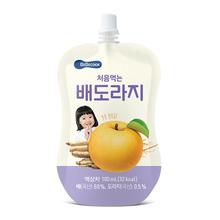 100ml 韩国桔梗梨饮料 桔梗梨汁